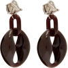 Prada Crystal-embellished Drop Earrings - Orecchine -