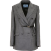 Prada Double-breasted Blazer - Suits -