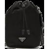 Prada Drawstring Nylon Wristlet Pouch - Travel bags -