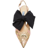 Prada Exclusive Brocade Slingback Pumps - Balerinki -