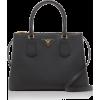 Prada Galleria Textured-Leather Tote - Hand bag -