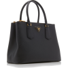 Prada Galleria Textured-Leather Tote - Hand bag -