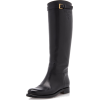 Prada Leather Knee High Boots - Boots - $1.70