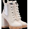 Prada Leather and neoprene booties - Boots - $990.00