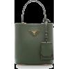 Prada Saffiano Cuir Mini Top Handle Bag - Hand bag -