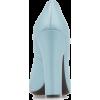 Prada Satin Stacked Heel Pumps - Classic shoes & Pumps -
