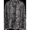 Prada Sheer Lace Mini Cape - Jacket - coats -