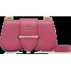 Prada Small City Calf Flap Bag - Hand bag -