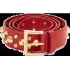 Prada Studded Leather Belt - Cinturones -