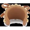 Prada Stud-embellished Leather Cuff - Bracelets -