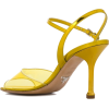Prada Transparent Detail Sandals - Sandały -