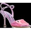Prada Transparent Detail Sandals - Sandals -