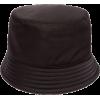 Prada Triangle-plaque Nylon Bucket Hat - ハット -