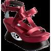 Prada - 坡跟鞋 -