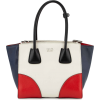 Prada saffiano red white blue handbag - Hand bag -