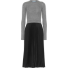 Prada two tone dress of wool and silk - Kleider -