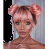 Pretty Pink Hair - Pessoas -