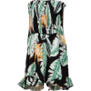 Print Off Shoulder Siamese Skirt - Vestidos - $23.99  ~ 20.60€