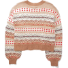 Printed Sweater - Pullovers -