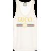 Printed lace tank top - Camisas sin mangas -