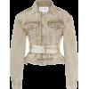 Proenza Schouler PSWL Belted Denim Jacke - Jaquetas e casacos -