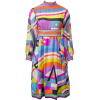Pucci Silk Print 1960s Empire Dress - Dresses -