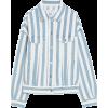Pull & Bear Oversized striped denim jack - Jakne in plašči - £25.99  ~ 29.37€