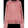 Pull&Bear pink chenille jumper - Pullovers -