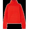 Pullover Sweater Red Orange - Jerseys -