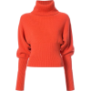 Pullover Sweater Red Orange - Pullovers -