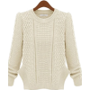 Pullover Sweater - Swetry -