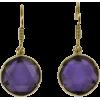 Purple Earrings - Earrings -