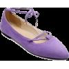 Purple Flats - Flats -