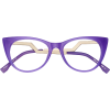Purple Glasses - Eyeglasses -