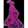 Purple Gown - Vestidos -