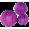 Purple Lantern - Lights -