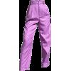 Purple Pants - Capri & Cropped -