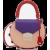 Purple Peach Red - Hand bag -