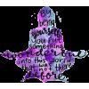 Purple - 插图用文字 -