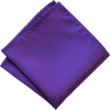 Purple pocket square  - Tie -