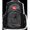 Quiksilver NY New York Pro Fingerprint Laptop Backpack Book Bag Black - Backpacks - $34.99  ~ £26.59