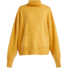 RAEY  Pocket-front roll-neck cashmere sw - Pullovers -
