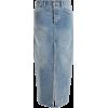 RAEY Slit-front denim maxi pencil skirt - Spudnice -