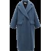 RAEY blue coat - Jacket - coats -