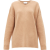 RAEY peach neutral cashmere sweater - Pullovers -