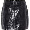 RAG & BONE Toni belted leather miniskirt - Skirts - $595.00