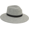 RAG & BONE Zoe Grey Fedora - Hat -