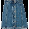 RAG & BONE denim mini skirt - Skirts -