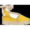 RALPH LAUREN canvas espadrille wedge - 坡跟鞋 -
