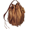 RALPH LAUREN fringed bag - 手提包 -